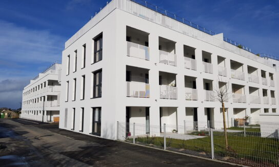 Résidence « Le Clos du Prieuré 1 & 2 »  2 bâtiments de 21 et 22 logements