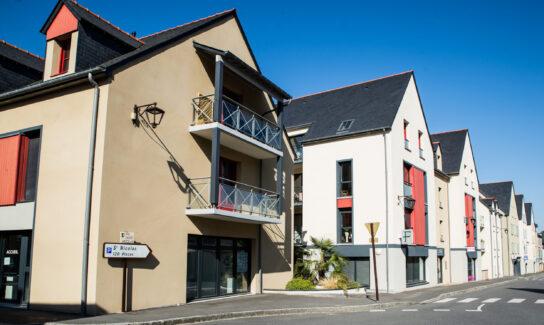 Résidence « Saint Nicolas » en 4 bâtiments de 65 logements avec commerces et services